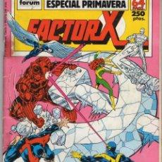Comics: FACTOR X VOL. 1 ESPECIAL PRIMAVERA 1989 - FORUM - OFM15. Lote 244795090