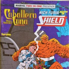 Cómics: MARVEL TWO IN ONE: CABALLERO LUNA & NICK FURIA Nº (19) DE D.G. CHICHESTER, HERB TRIMPE. Lote 244928675