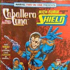 Cómics: MARVEL TWO IN ONE: CABALLERO LUNA & NICK FURIA Nº (16) DE D.G. CHICHESTER, HERB TRIMPE, BILL HAASKA.. Lote 244929125