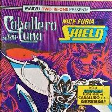 Cómics: MARVEL TWO IN ONE: CABALLERO LUNA & NICK FURIA Nº (17) DE D.G. CHICHESTER, HERB TRIMPE, BILL HAASKA.. Lote 244929345