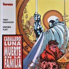 Cómics: CABALLERO LUNA: LA MUERTE EN LA FAMILIA DE TERRY KAVANAGH, STEPHEN PLATT, FRED HAYNES. Lote 244930470