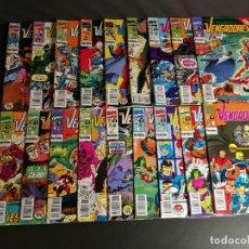Cómics: MARVEL COMICS FORUM LOS VENGADORES COMPLETA DEL 1 ~ 132 1983 LOTE DE 19 NÚMEROS CORRELATIVOS 101 119. Lote 244967880