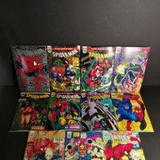 Cómics: MARVEL COMICS FORUM SPIDER-MAN TODD MCFARLANE COMPLETA 1 AL 12 A FALTSA DEL # 9 SPIDERMAN ORIGINAL. Lote 244969055