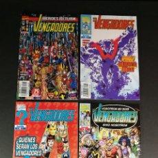 Cómics: MARVEL COMICS FORUM VENGADORES VOL. 3 NÚMEROS 2 3 4 Y 5 COMO NUEVOS. Lote 244975295