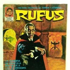 Cómics: RUFUS Nº 7 - RELATOS DE TERROR Y SUSPENSE - IBERO MUNDIAL - 1973. Lote 245067065