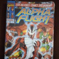 Cómics: ALPHA FLIGHT VOL 2 COMPLETA+ ESPECIAL 1999+FLASHBACK ALPHA FLIGHT ORIGENES 1. Lote 245255165
