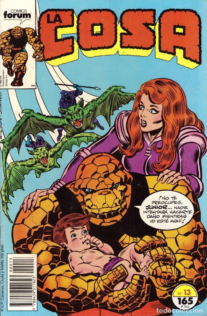 COMIC LA COSA, Nº 13 - FORUM (Tebeos y Comics - Forum - 4 Fantásticos)