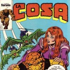 Cómics: COMIC LA COSA, Nº 13 - FORUM. Lote 245309360