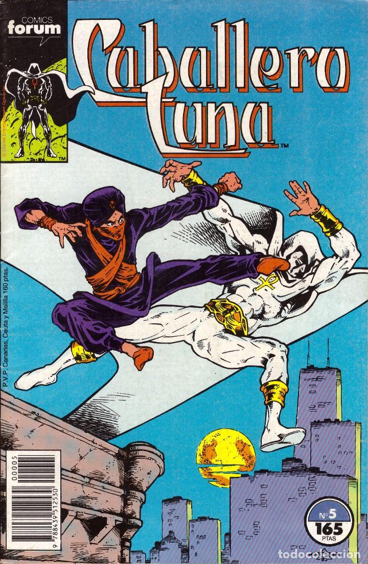 COMIC CABALLERO LUNA, Nº 5 - FORUM (Tebeos y Comics - Forum - Otros Forum)
