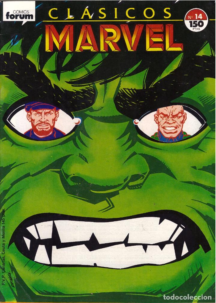 COMIC CLASICOS MARVEL, Nº 14 - FORUM (Tebeos y Comics - Forum - Otros Forum)