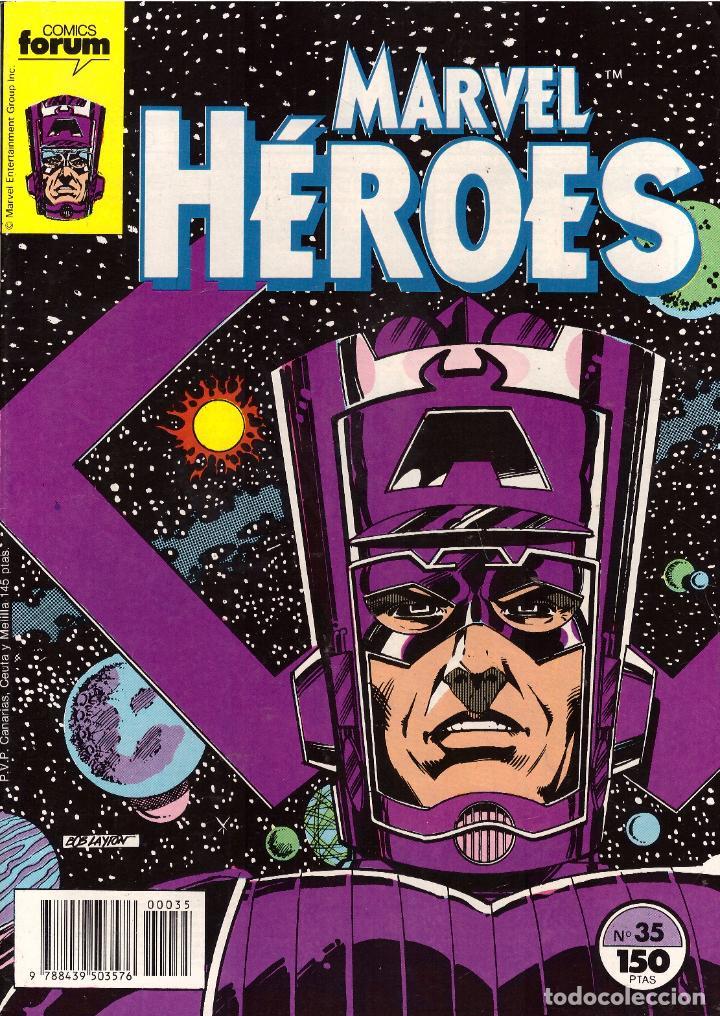 COMIC MARVEL HEROES, Nº 35 - FORUM (Tebeos y Comics - Forum - Otros Forum)