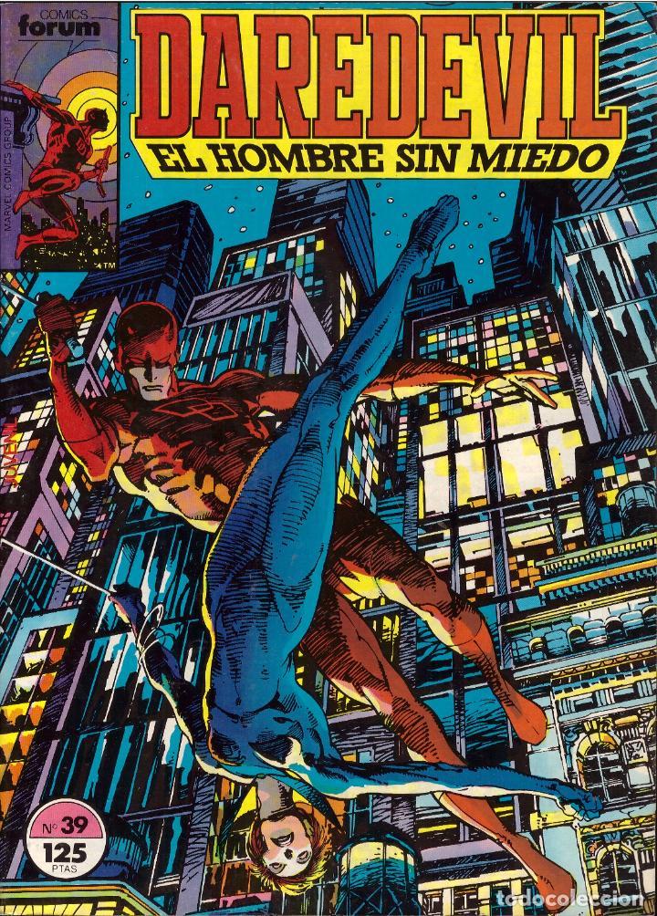 COMIC DAREDEVIL. EL HOMBRE SIN MIEDO, VOL. 1, Nº 39 - FORUM (Tebeos y Comics - Forum - Daredevil)