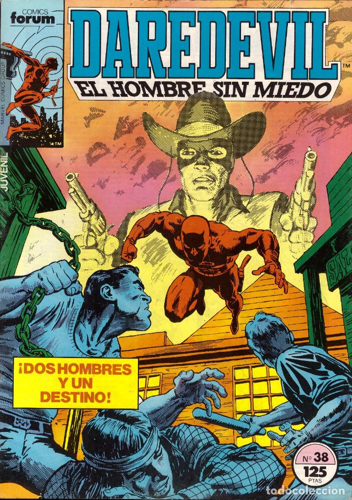COMIC DAREDEVIL. EL HOMBRE SIN MIEDO, VOL. 1, Nº 38 - FORUM (Tebeos y Comics - Forum - Daredevil)