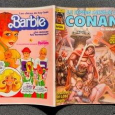 Comics : ¡¡LIQUIDACION COMIC 1 EURO!! PEDIDO MINIMO 5 EUROS - LA ESPADA SALVAJE DE CONAN Nº 60 - COMICS FORUM. Lote 245374245