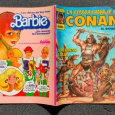 Comics : ¡¡LIQUIDACION COMIC 1 EURO!! PEDIDO MINIMO 5 EUROS - LA ESPADA SALVAJE DE CONAN Nº 57 - COMICS FORUM. Lote 245374445