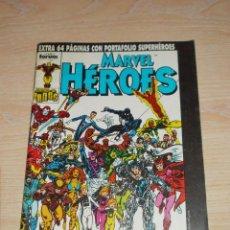 Cómics: MARVEL HEROES Nº 41. CONTROL DE DAÑOS / AMERICAN SOLDIER EXTRA 64 PAGÍNAS. FORUM. Lote 245384075