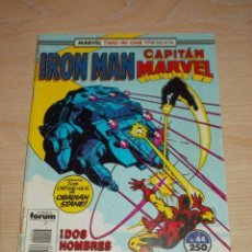 Cómics: TWO-IN-ONE. IRON MAN & CAPITÁN MARVEL Nº 44. FORUM. Lote 245384340