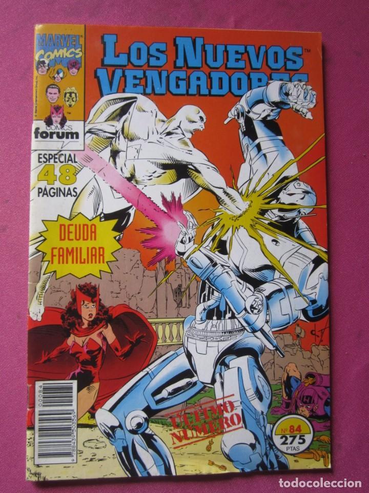 LOS NUEVOS VENGADORES 84 ULTIMO FORUM (Tebeos y Comics - Forum - Vengadores)