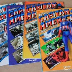 Cómics: CAPITÁN AMÉRICA 1 2 3 4 COMPLETA - PRESTIGIO VOL 1 Nº 40 42 44 46 FORUM 1992 - NUEVO (PRECINTADO). Lote 245525410