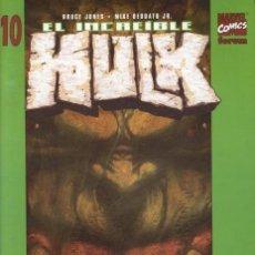 Cómics: EL INCREIBLE HULK VOLUMEN 5 NÚMERO 10 (BRUCE JONES Y MIKE DEODATO JR) FORUM. Lote 245567385