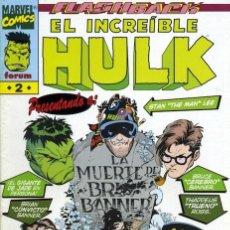 Cómics: EL INCREIBLE HULK VOLUMEN 3 NÚMERO 2 (FORUM). Lote 245569180