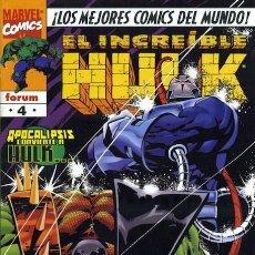 Cómics: EL INCREIBLE HULK VOLUMEN 3 NÚMERO 4 (FORUM). Lote 245569250