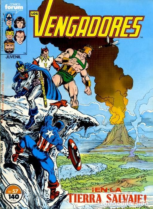 LOS VENGADORES VOL.1 Nº 57 FORUM MUY BUEN ESTADO (Tebeos y Comics - Forum - Vengadores)