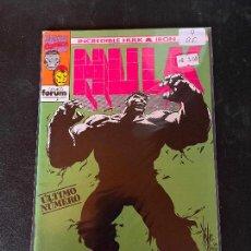 Cómics: FORUM INCREDIBLE HULK & IRON MAN NUMERO 9 BUEN ESTADO. Lote 245651470