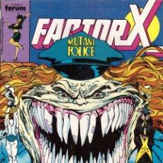 Cómics: COMIC FACTOR X, Nº 29 - FORUM. Lote 245724675