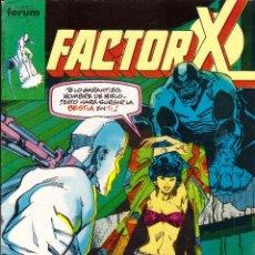 Cómics: COMIC FACTOR X, Nº 30 - FORUM. Lote 245724715