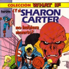 Cómics: COMIC WHAT IF, Nº 4: ¿Y SI SHARON CARTER HUBIERA MUERTO? - FORUM. Lote 245725305