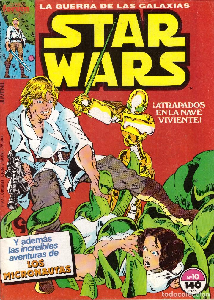 COMIC STAR WARS, Nº 10 - FORUM (Tebeos y Comics - Forum - Otros Forum)
