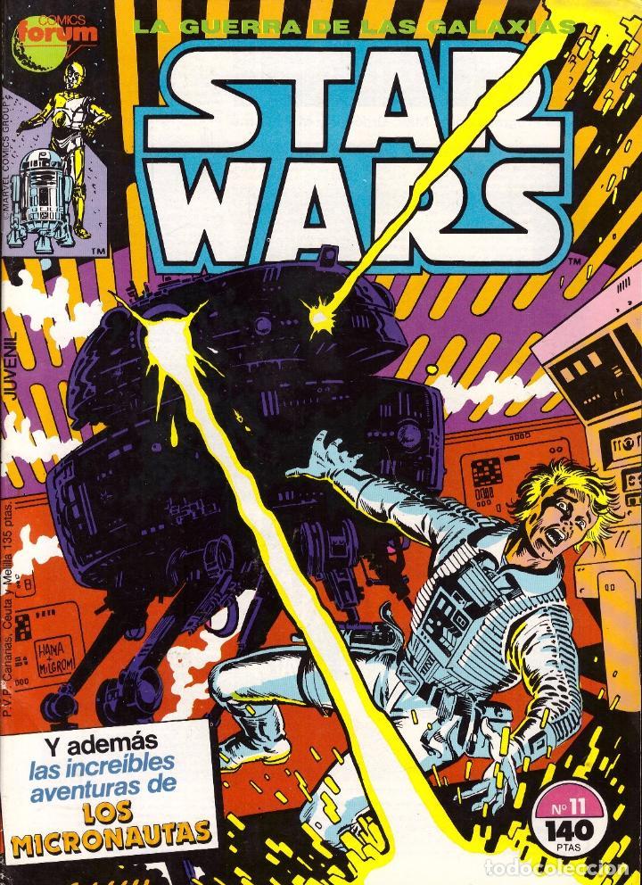 COMIC STAR WARS, Nº 11 - FORUM (Tebeos y Comics - Forum - Otros Forum)
