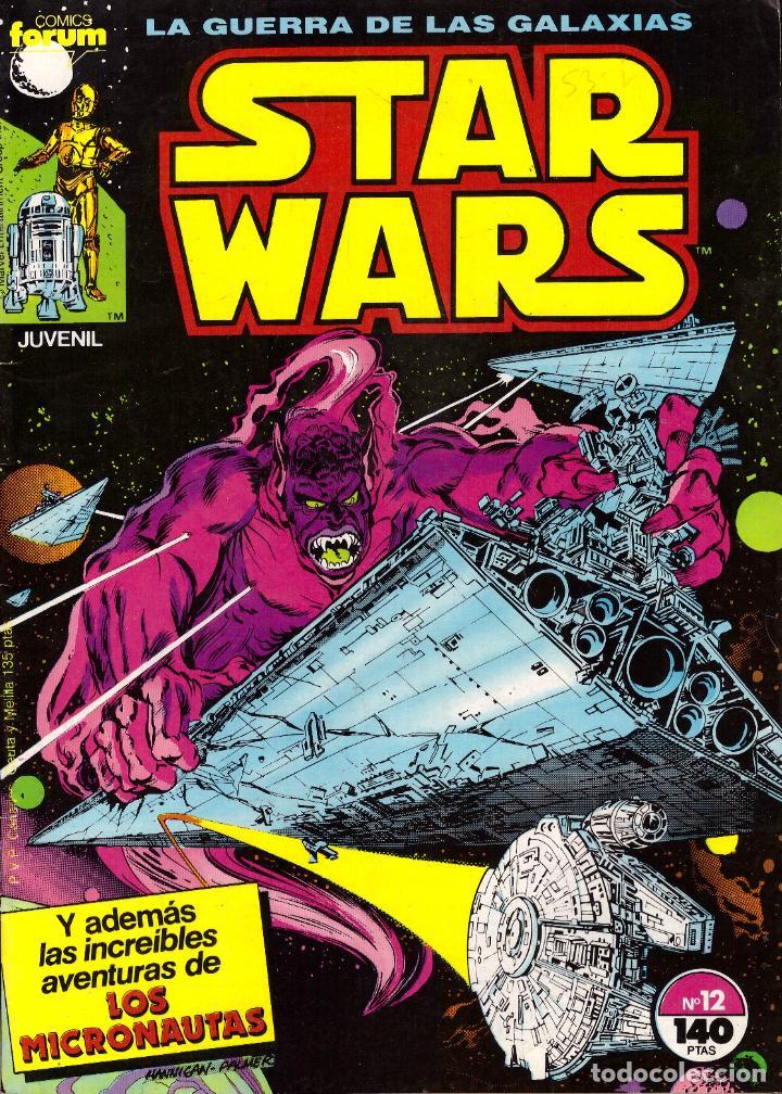 COMIC STAR WARS, Nº 12 - FORUM (Tebeos y Comics - Forum - Otros Forum)