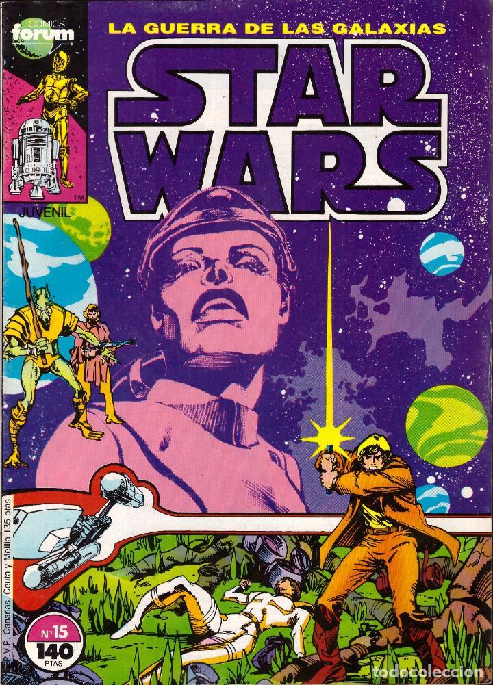 COMIC STAR WARS, Nº 15 - FORUM (Tebeos y Comics - Forum - Otros Forum)
