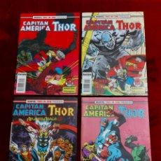 Cómics: MARVEL TWO-IN-ONE CAPITÁN AMÉRICA THOR, NUMEROS :57,58,59 Y 65./SUPER HEROES LOS VENGADORES, COMIC. Lote 245922330