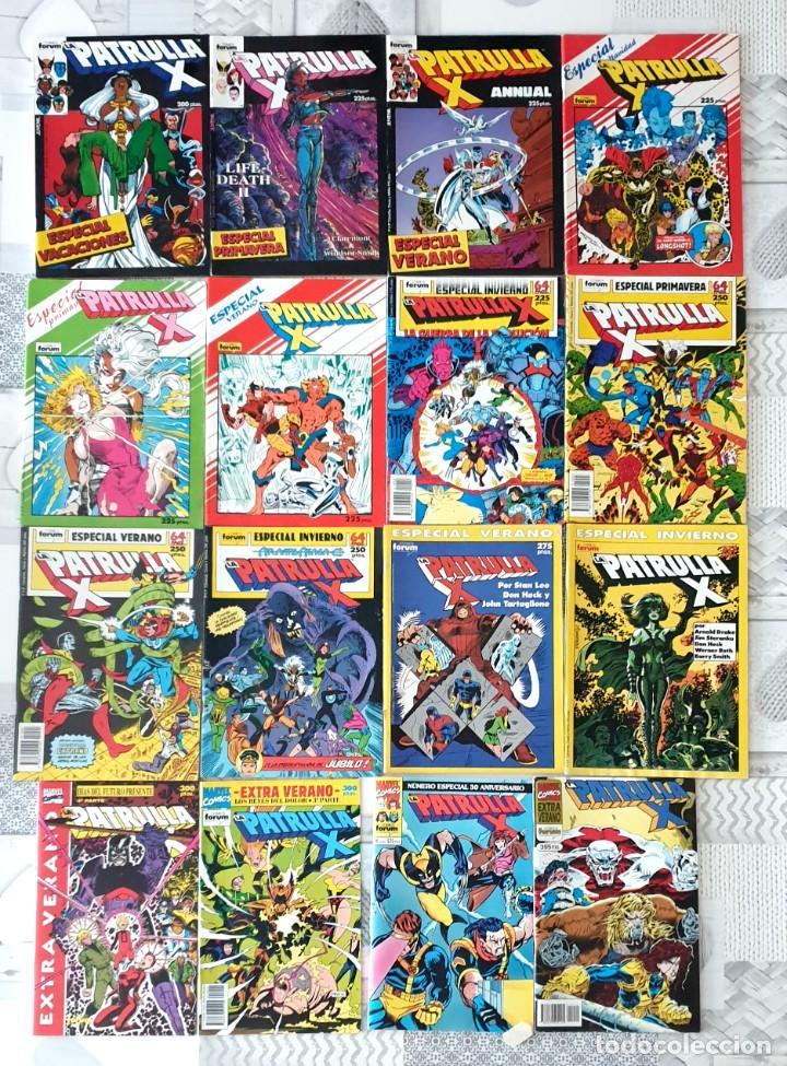 Cómics: LA PATRULLA-X. Col.Completa de 159 comics + 16 especiales. Comics Forum 1985 - Foto 4 - 245955945