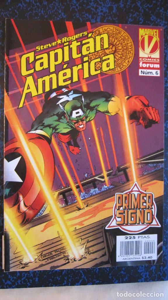CAPITAN AMERICA Nº 6. PRIMER SIGNO. IMPECABLE (Tebeos y Comics - Forum - Capitán América)