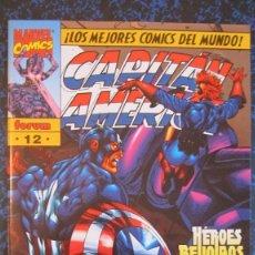 Cómics: CAPITAN AMERICA Nº 12. HEROES REUNIDOS 4 DE 4. IMPECABLE. Lote 245956745