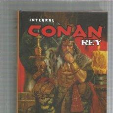 Cómics: INTEGRAL CONAN REY. Lote 245979195