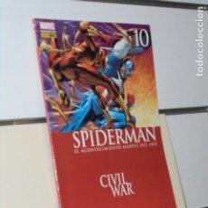 Cómics: SPIDERMAN STRACZYNSKI VOL. 2 Nº 10 CIVIL WAR MARVEL - FORUM. Lote 245992250