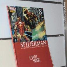 Cómics: SPIDERMAN STRACZYNSKI VOL. 2 Nº 8 CIVIL WAR MARVEL - FORUM. Lote 245992455