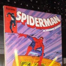 Cómics: RETAPADO FORUM NUEVO SIN LEER SPIDERMAN V1 NUMEROS 136 A 140. Lote 246059695