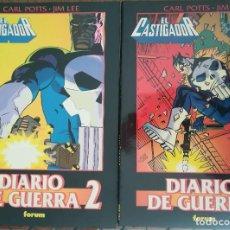 Cómics: DIARIO DE GUERRA OBRAS MAESTRAS 1 Y 2. Lote 246066820