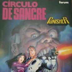 Cómics: CIRCULO DE SANGRE PUNISHER OBRAS MAESTRAS. Lote 246069585