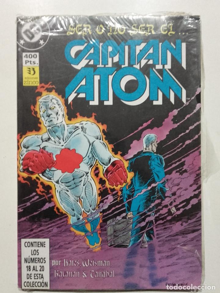 CAPITAN ATOM, RETAPADO, NUMEROS 18 19 20, EDICIONES ZINCO, DC (Tebeos y Comics - Forum - Retapados)