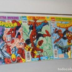 Cómics: SPIDERMAN LA VENDETTA VIBRANIUM COMPLETA 3 NUMEROS EXTRA - FORUM. Lote 246140065