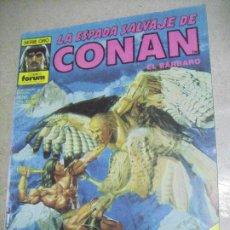 Cómics: LA ESPADA SALVAJE DE CONAN Nº 121- ED. FORUM. Lote 246146145