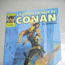 Cómics: LA ESPADA SALVAJE DE CONAN Nº 125- ED. FORUM. Lote 246146445