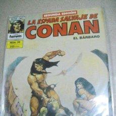 Cómics: LA ESPADA SALVAJE DE CONAN Nº 38 - 2ª EDICIÓN- ED. FORUM. Lote 246148535